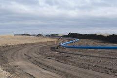 Трубопровод природного газа Стоковая Фотография RF
