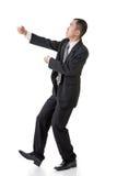 Веревочка владением бизнесмена Стоковое Фото