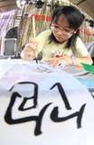 写汉语 库存图片