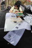Пишет китайский язык Стоковое Изображение RF