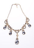 Ожерелье, ожерелье на предпосылке Стоковое Фото
