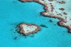 壮观的心脏礁石 库存图片