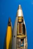 结构导弹弹头 库存图片