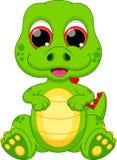 Шарж динозавра младенца Стоковые Изображения RF