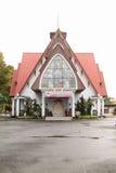 教会在万鸦老 免版税库存图片