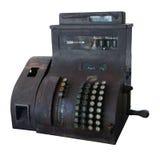 Старый кассовый аппарат Стоковое Фото