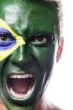 Ανεμιστήρας ποδοσφαίρου Στοκ Εικόνα
