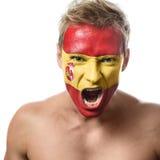 Ανεμιστήρας ποδοσφαίρου Στοκ Εικόνες