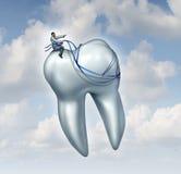 牙医忠告 库存图片