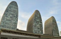 北京北部火车站视图 免版税库存图片