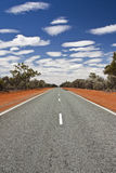 路在澳洲内地澳大利亚 图库摄影
