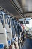 Άποψη από μέσα από το λεωφορείο Στοκ εικόνα με δικαίωμα ελεύθερης χρήσης