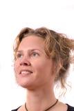 白肤金发俏丽 免版税库存图片