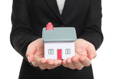 Новая концепция дома и домовладельца Стоковые Изображения