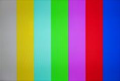电视绒毛和静止的图象 免版税库存照片