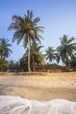 Красивый тропический курорт принятый от моря Стоковое фото RF