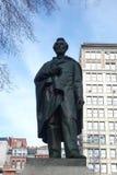 亚伯拉罕・林肯雕象 库存照片