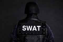 Офицер СВАТ Стоковые Фотографии RF