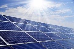 Ηλιακή ενέργεια Στοκ Φωτογραφία