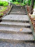 Конкретные шаги Стоковые Изображения RF
