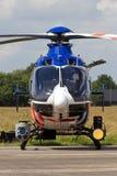 荷兰警察用直升机 库存照片