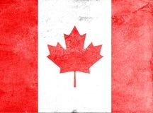 加拿大的旗子 免版税库存照片