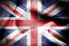 英国国旗。 图库摄影