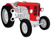 Трактор игрушки Стоковое Изображение RF