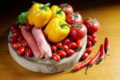 Ζωηρόχρωμα φρέσκα λαχανικά Στοκ φωτογραφία με δικαίωμα ελεύθερης χρήσης