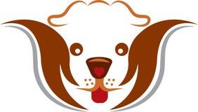 宠物照管商标 免版税库存图片