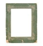Старая бумажная рамка фото Стоковые Фотографии RF