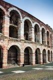 竞技场,维罗纳圆形露天剧场在意大利 库存照片
