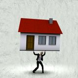 Концепция ипотеки Стоковое Фото