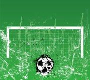 足球/橄榄球例证 库存图片