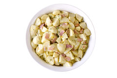 德国土豆沙拉 免版税库存照片