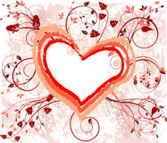 вектор иллюстрации предпосылки романтичный Стоковое фото RF