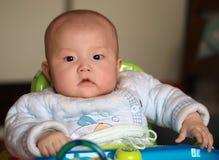 婴孩画象 免版税图库摄影