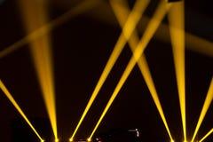 阶段照明设备 免版税库存照片