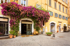 Архитектура Рима. Италия. Стоковое Изображение RF