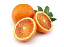 新鲜的血橙 库存图片