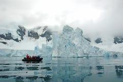 南极视图 免版税库存照片