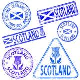 Избитые фразы Шотландии Стоковые Изображения RF