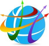 Логотип перемещения Стоковое Фото