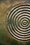Абстрактная текстура металла Стоковая Фотография
