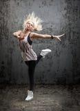 舞蹈家摆在 免版税图库摄影