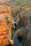 布莱德河峡谷,南非 库存图片