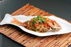 泰国罗望子树红鲷鱼 库存图片