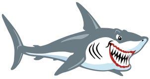 动画片鲨鱼 库存图片