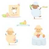 复活节绵羊 免版税库存图片