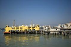 槟榔岛轮渡,乔治城,槟榔岛,马来西亚 免版税库存照片